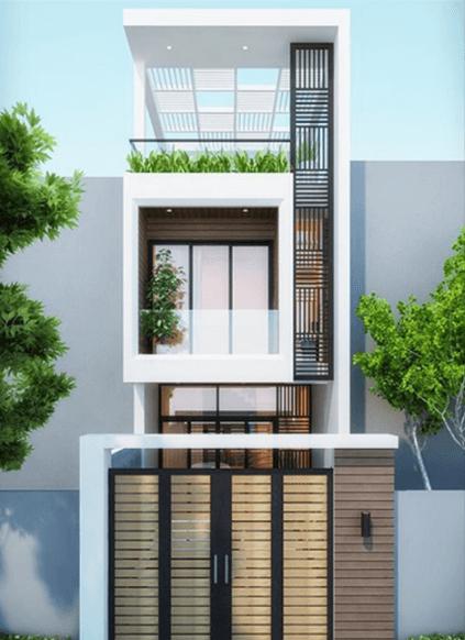 thiết kế nhà 2 tầng đẹp 3