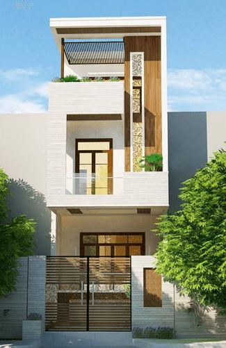 thiết kế nhà 2 tầng đẹp