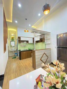 Không gian thiết kế nội thất trong nhà rất sang trọng