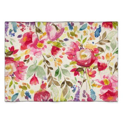 tấm thảm hoa